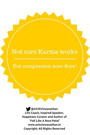 Karma - Compassion