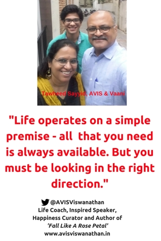 AVIS Viswanathan - All that you need is always available