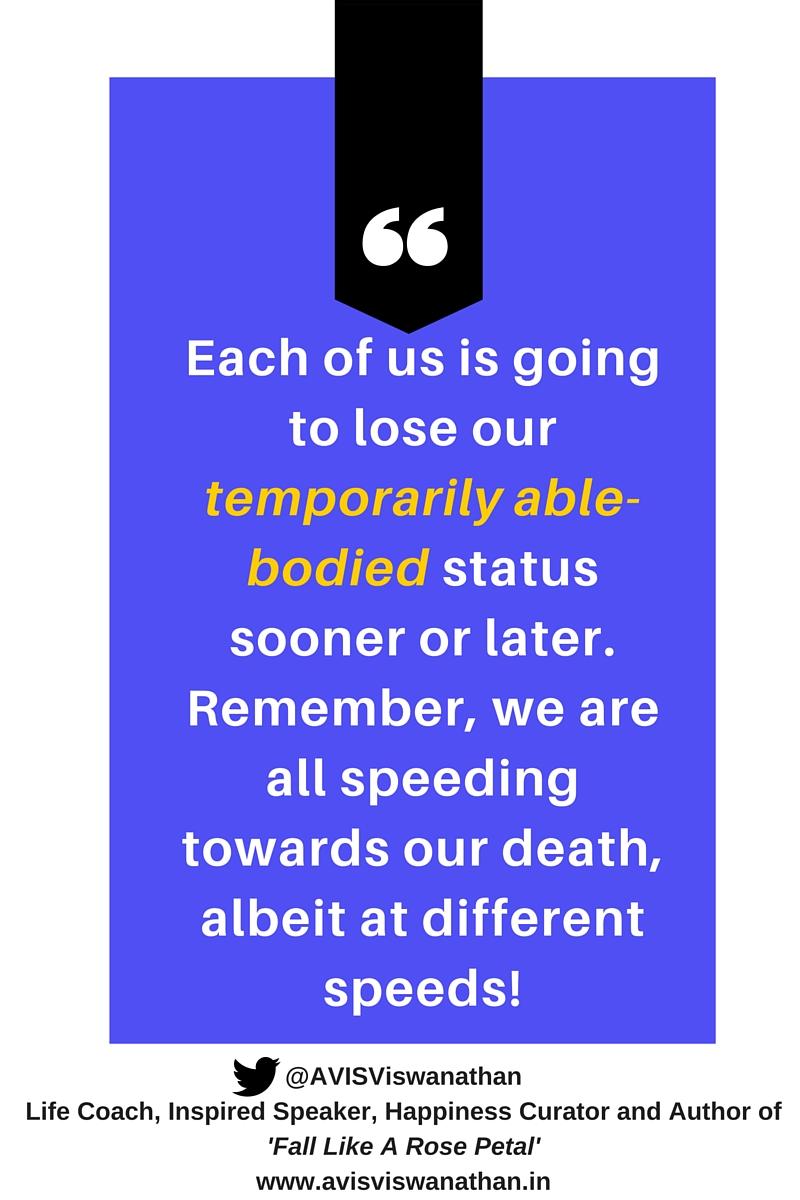 Temporarily Able Bodied to Death