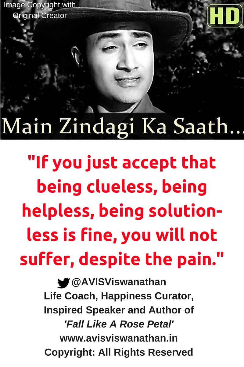 AVIS Viswanathan - If you accept that being clueless is fine, you will not suffer