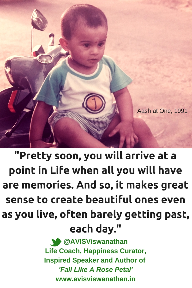 AVIS Viswanathan - Make Time Daily For Making Memories