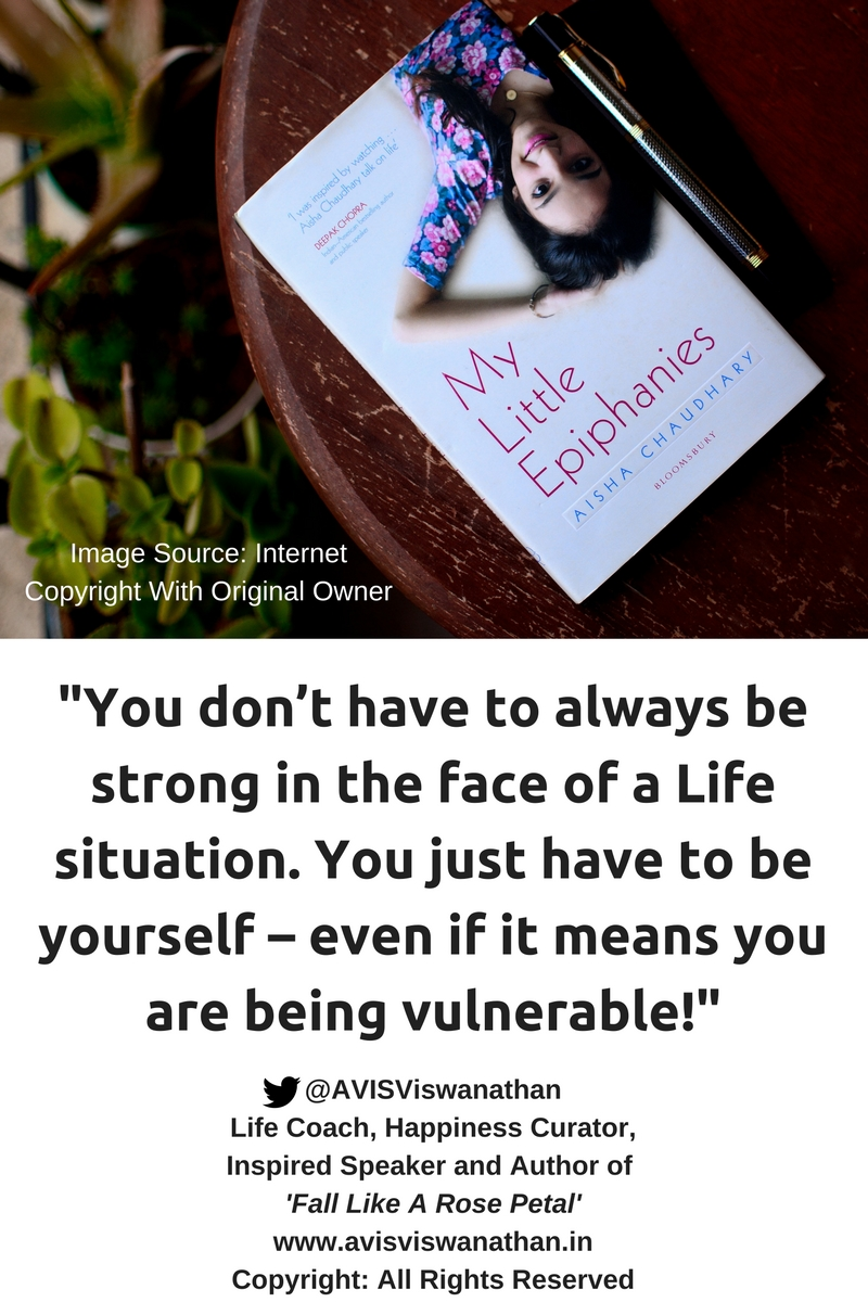 AVIS Viswanathan - You don't have to be strong - be yourself