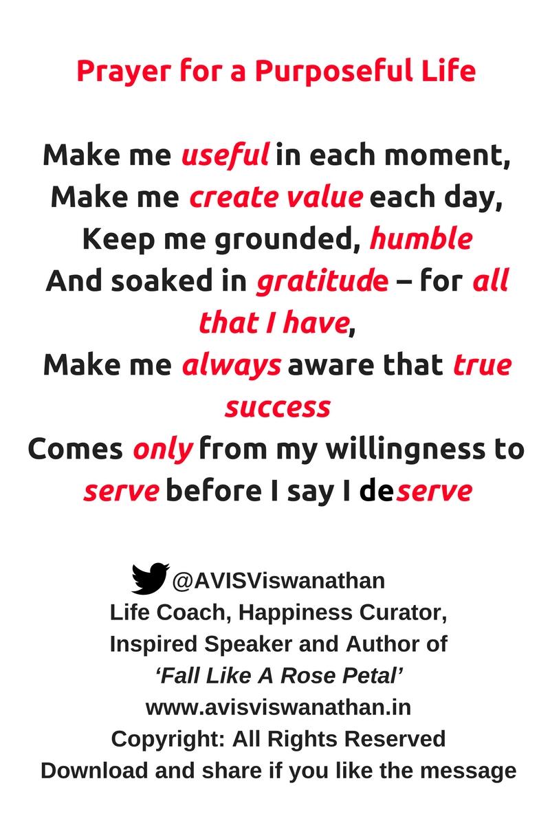 avis-viswanathan-prayer-for-a-purposeful-life