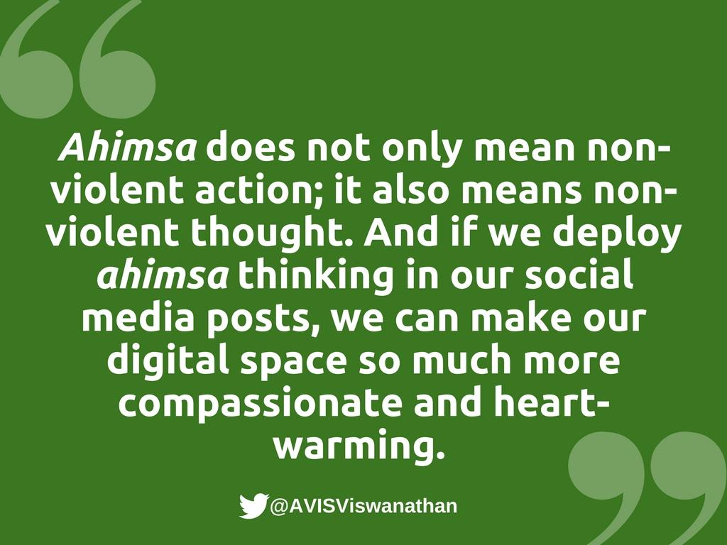 AVIS-Viswanathan-ahimsa-thinking-on-social-media