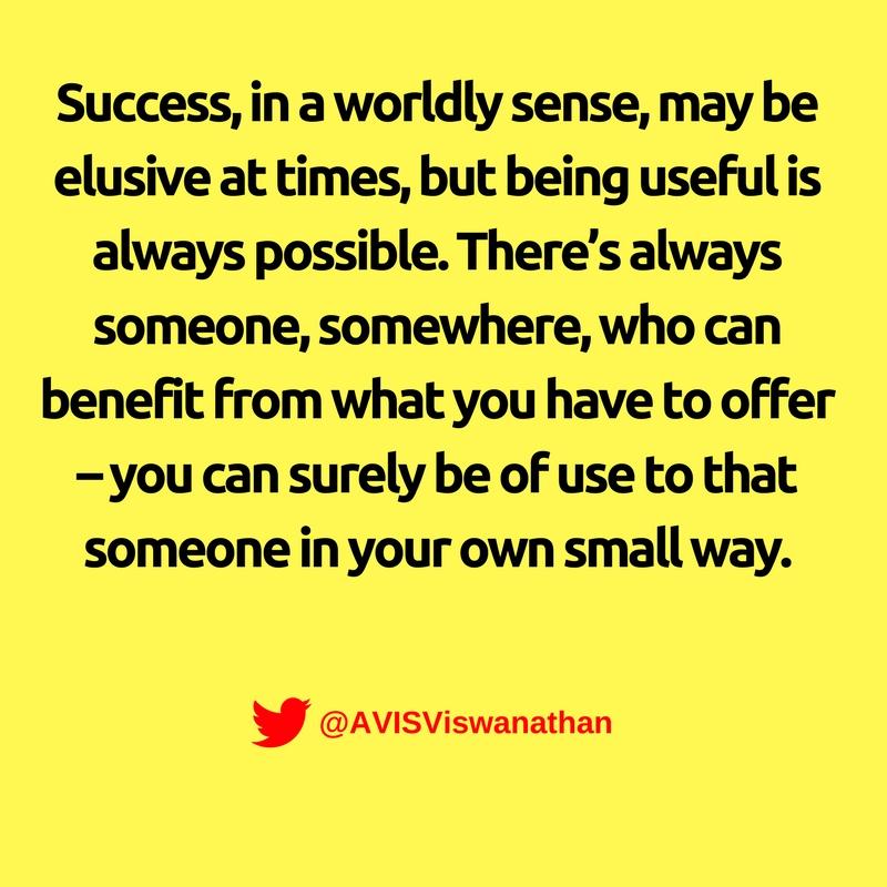 AVIS-Viswanathan-Being-Useful-Vs-Being-Successful