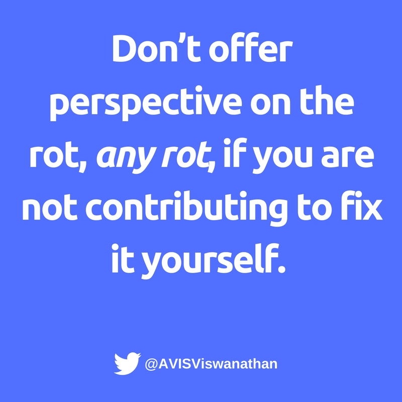 AVIS-Viswanathan-Don't-offer-perspective-if-you-are-not-fixing-a-rot