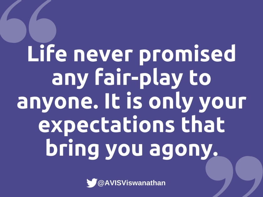 AVIS-Viswanathan-Expectations-bring-you-agony