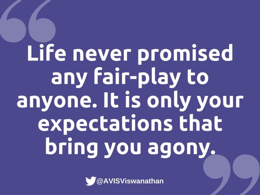 AVIS-Viswanathan-Expectations-bring-you-agony