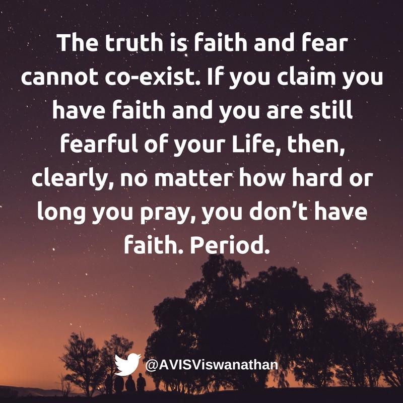 AVIS-Viswanathan-Faith-and-Fear-cannot-coexist