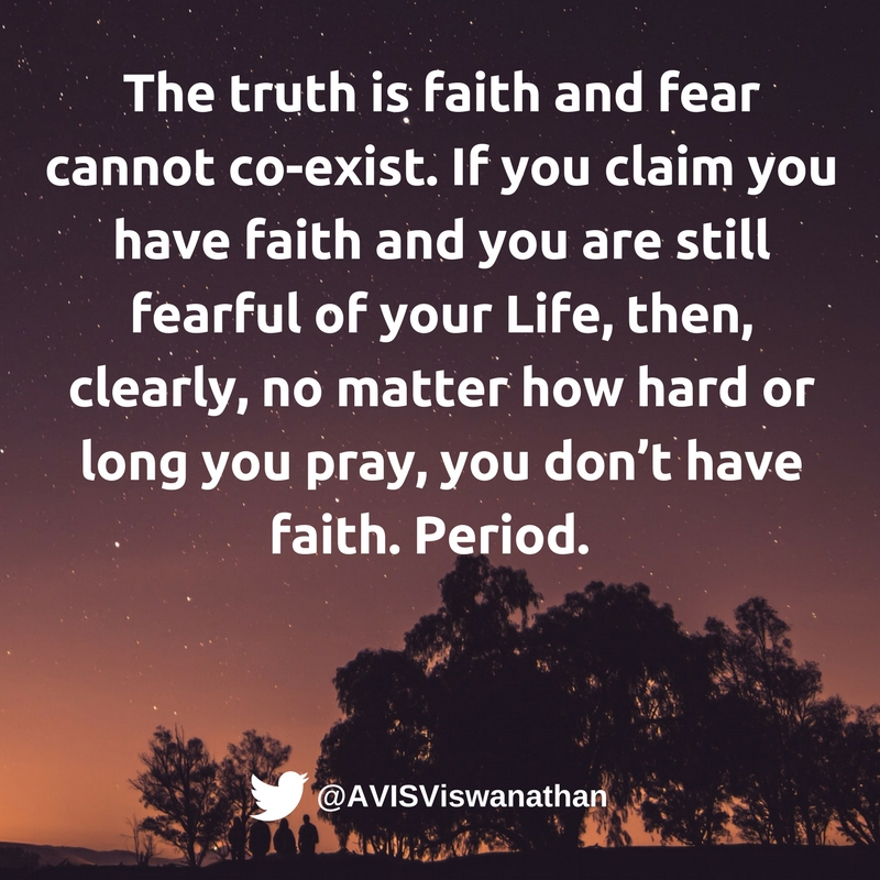 AVIS-Viswanathan-Faith-and-Fear-cannot-coexist
