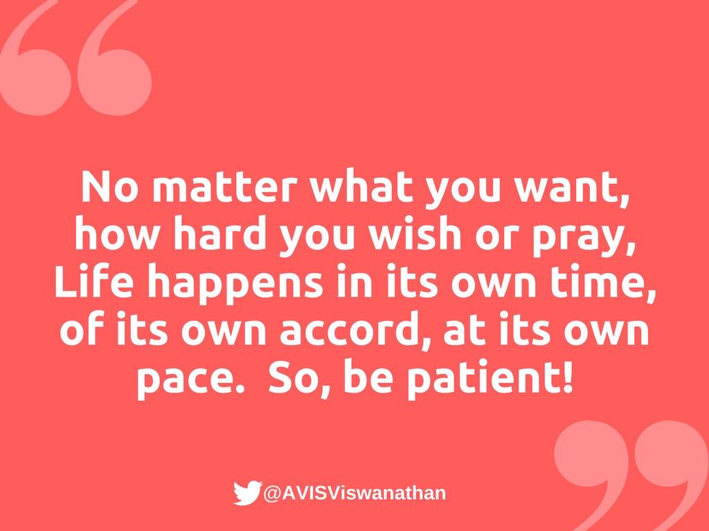 AVIS-Viswanathan-Be-Patient
