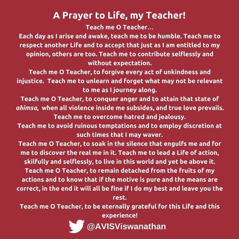 AVIS-Viswanathan-The-Universal-Prayer-A-Prayer-to-Life-my-Teacher