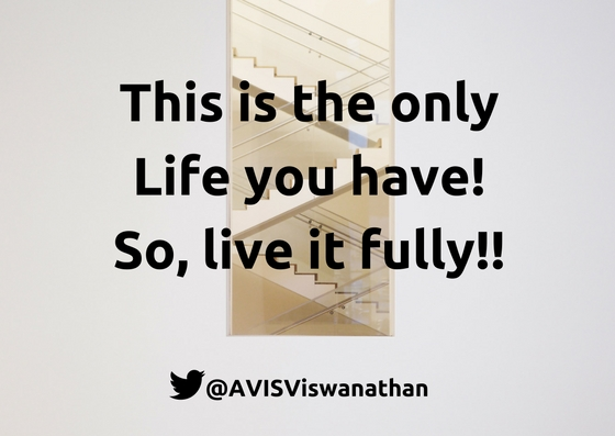 AVIS aB Ep 11 This is the only Life you have. So live it fully