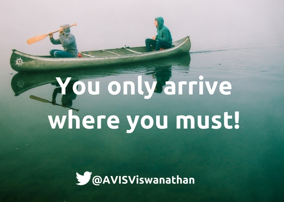 AVIS aB Ep 6 You only arrive where you must