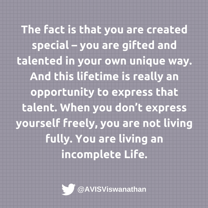 AVIS-Viswanathan-Without-expressing-yourself-freely-you-are-living-an-incomplete-Life