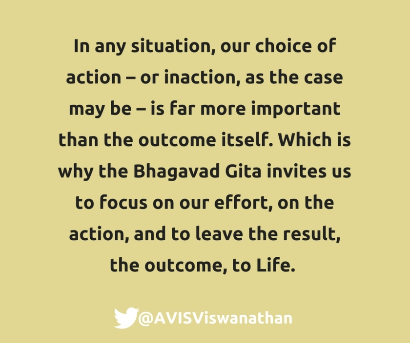 AVIS-Viswanathan-Focus-on-the-actions-and-leave-the-outcomes-to-Life