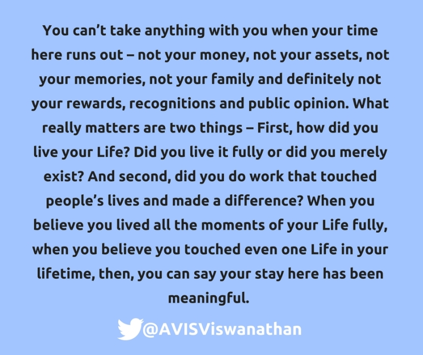 AVIS-Viswanathan-Making-Life-meaningful