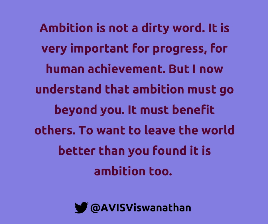 AVIS-Viswanathan-Ambition-is-not-a-dirty-word