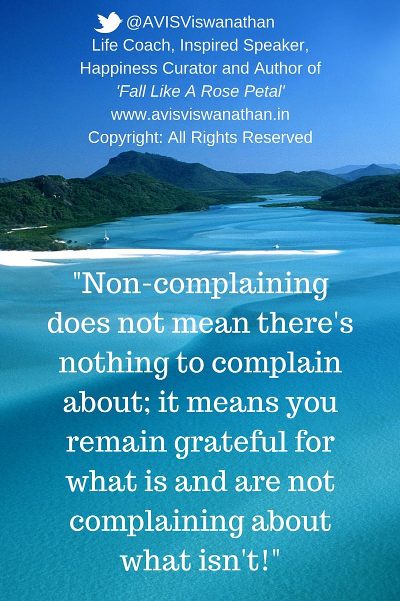 AVIS-Viswanathan-Non-Complaining