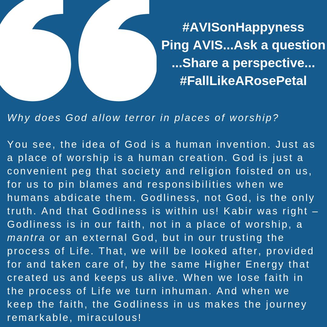 #AVISonHappyness 22.4.19