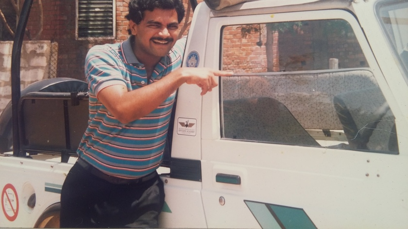 AVIS with Maruti Gypsy 1988 Muttukadu